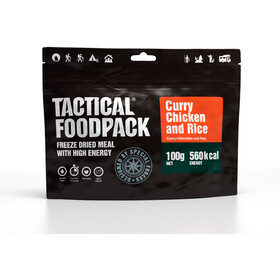 Tactical Foodpack Freeze Dried Meal 100g, Curry Chicken and Rice